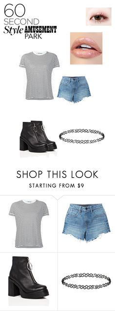 """""""..."""" by talia2003 ❤ liked on Polyvore featuring T By Alexander Wang, Alexander Wang, Current Mood, Dorothy Perkins, amusementpark and 60secondstyle"""