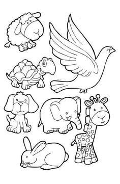 Noahs Ark Coloring Pages PDF