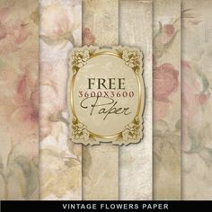 Far Far Hill: Freebies Flowers Paper