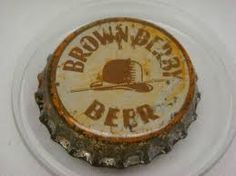 Brown Derby Beer, bottle cap | Humboldt Malt and Brewing Co., Eureka, California USA | cap used 1935-1939