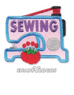 Sewing Fun Patch - If we wind up sewing for a service project or silver award!!