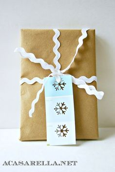 These Paint Chip Gift Tags by A Casarella are wonderful DIY gift tags for Christmas. Learn how to make gift tags with this great craft. Merry Christmas, Christmas Gift Tags, Christmas Wrapping, Diy Christmas, Christmas Stuff, Office Christmas, Country Christmas, Paint Chip Art, Paint Chips