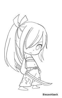 best fairy tail coloring pages erza chibi 9514 Chibi Coloring Pages, Cars Coloring Pages, Coloring Sheets, Adult Coloring, Coloring Books, Natsu Drawing, Fairy Tail Drawing, Fairy Tail Anime, Anime Chibi