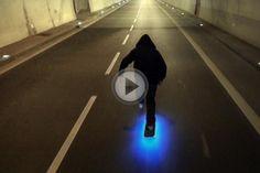 "Drone Camera Shoots Super Slick Skater Video ""Firefly"" | Fstoppers"