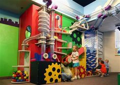 interactive science wall | Boss Display : Kid City Ball Wall