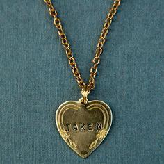 Taken Heart Necklace