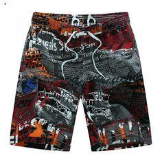 9593f0672d5 Summer Hot Men Beach Shorts Quick Dry Printing Board Shorts Men