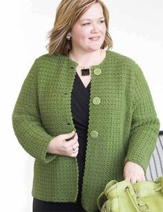 free crochet patterns women's jackets | CROCHET FREE JACKET PATTERN SHORT - Crochet Club