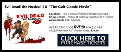 Halloween Events in Vegas, Evil Dead the Musical, Vegas Tickets, Entertainment Shows