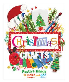This Christmas Crafts Hardcover is perfect! #zulilyfinds