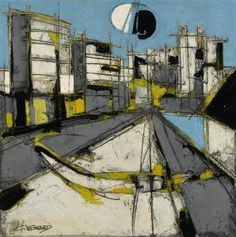 Claude Venard - Le Quai 1960