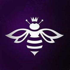 Dibujo de abeja reina