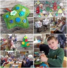 Today Deborah and I installed the Tree Leaves Yarnstorm. Leaf Projects, Extreme Knitting, Conifer Trees, Finger Knitting, Tree Leaves, Trees To Plant, Charity, Crochet Hats, Bloom