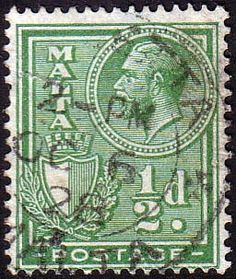 Malta 1926 King George V SG 158 Fine Used Scott 132 Other European and British Commonwealth Stamps HERE!