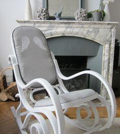 Angel rocking chair