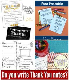 Do your kids write thank you notes? Simple tips for writing appreciative notes. | TheConfidentMom.com