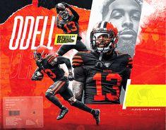 Artwork for Odell Beckham JR. of Cleveland Browns Football Art, Alabama Football, Football Posters, Browns Football, Soccer Poster, American Football, Seahawks, Odell Beckham Jr Wallpapers, Cleveland Browns Logo