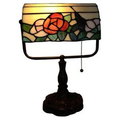 Flower Banker Tiffany Lamp <3 Details on product can be viewed by clicking the image