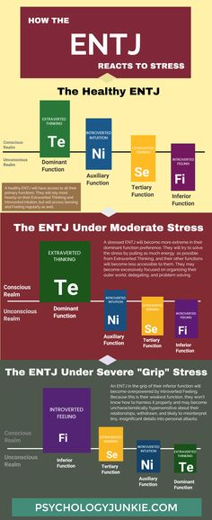 What Really Happens When an ENTJ is Stressed New Infographic! What Really Happens When an ENTJ is StressedNew Infographic! What Really Happens When an ENTJ is Stressed Isfj Personality, Personality Profile, Myers Briggs Personality Types, Personality Psychology, Psychology Facts, Commander Personality, Personality Assessment, School Psychology, Personality Disorder