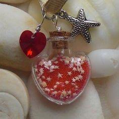Okinawa star sand necklace
