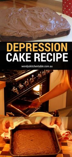 This cake that has stood the test of time is so simple to make, you're going to love it! Make the easy Depression Cake recipe!