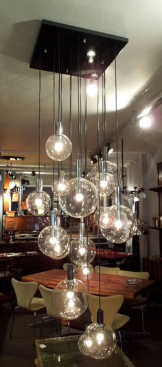 Exceptional Ceiling Fixture from Vico Magistretti   From a unique collection of antique and modern chandeliers and pendants at https://www.1stdibs.com/furniture/lighting/chandeliers-pendant-lights/