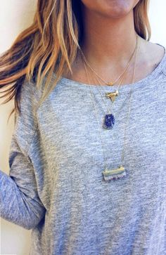Shark Tooth Necklace! $59