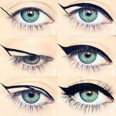 Eye Make-up Award profitable Mascara Eyeliner Forehead Gel Alexa Chung Making Eyes for Eyeko Makeup Goals, Makeup Inspo, Makeup Inspiration, Makeup Tips, Makeup Products, Makeup Tutorials, Full Makeup, Makeup Ideas, Makeup Hacks