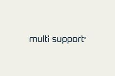 Multi Support on Behance