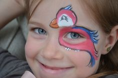 Face Painting : Bird