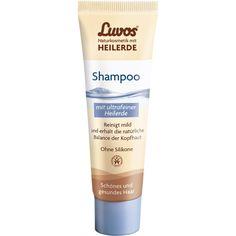 LUVOS Naturkosmetik mit Heilerde Haarshampoo:   Packungsinhalt: 30 ml Shampoo PZN: 07657938 Hersteller: Heilerde-Gesellsch.LUVOS JUST…