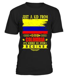 """# Just a kid from Colombia T-Shirt .  Special Offer, not available in shops      Comes in a variety of styles and colours      Buy yours now before it is too late!      Secured payment via Visa / Mastercard / Amex / PayPal      How to place an order            Choose the model from the drop-down menu      Click on """"Buy it now""""      Choose the size and the quantity      Add your delivery address and bank details      And that's it!      Tags: Colombian shirt, Colombia shirts for men, Colombia…"""