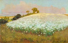Fritz Overbeck, Buckwheatfield on the Weyerberg (1897)