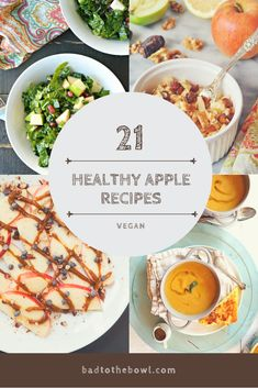 21 Healthy Vegan Apple Recipes – Bad to the Bowl