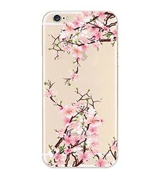 iPhone 6 Case, DECO FAIRY® Protective Case Bumper[Scratch-Resistant] [Perfect Fit] Translucent Silicone Clear Case Gel Cover for Apple iPhone 6 (Sakura Pink Cherry Blossom iPhone 6 4.7 DECO FAIRY® http://www.amazon.com/dp/B00W6R2M5G/ref=cm_sw_r_pi_dp_ho6-vb0GCP0J6