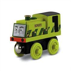 Thomas and Friends Wooden Railway Engine - Scruff