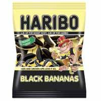 Haribo Black bananas