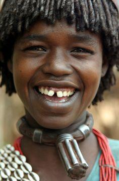 Africa | Hamar woman.  Omo Valley, Ethiopia | ©Tarnya Hall