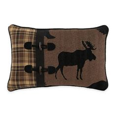 product image for Croscill® Summit Boudoir Throw Pillow in Brown
