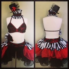 Jazz dance costume great to use if you are doing a mad-hatter themed dance