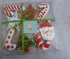 Regalos Navidad: Caja transparente y Galletas caseras