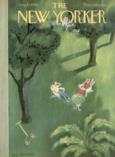 The New Yorker - Saturday, August 12, 1950 - Issue # 1330 - Vol. 26 - N° 25 - Cover by : Roger Duvoisin