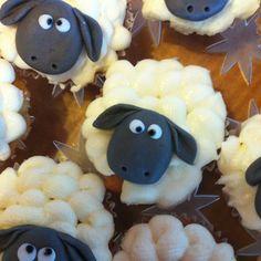 Sheep Cupcakes :-)