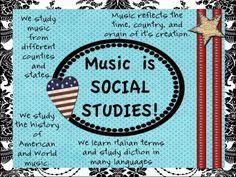 Music is Social Studies