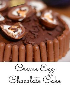 Creme Egg Chocolate Cake Recipe