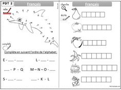 Image1 Alphabet Writing, Learning Resources, Bullet Journal, How To Plan, School, Plans, Petite Section, Aide, Teaching Resources