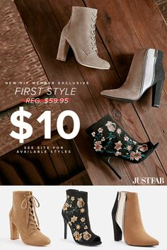 b2bba032d55a5 The Best Boots and Booties for Fall. Wide Width and Various Colors  Available. Get