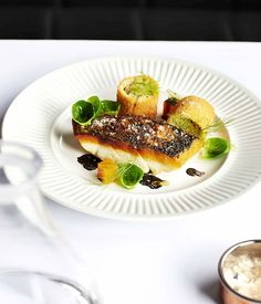 Mulloway with brandade croquettes :: Gourmet Traveller Magazine Mobile