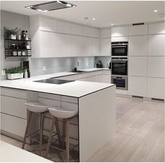Uplifting Kitchen Remodeling Choosing Your New Kitchen Cabinets Ideas. Delightful Kitchen Remodeling Choosing Your New Kitchen Cabinets Ideas. Nordic Kitchen, Scandinavian Kitchen, New Kitchen, Kitchen Decor, Kitchen Ideas, Kitchen White, Kitchen Furniture, Scandinavian Modern, Wood Furniture