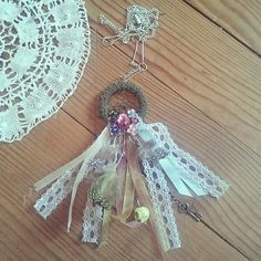 Dreamcatcher necklace by Harlow